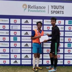 Reliance foundation Inter School Football Match
