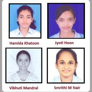 Merit certified students