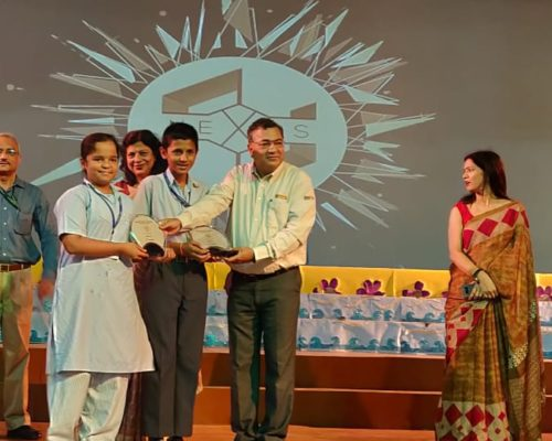 Toon IT at DPS _Armaan singh chauhan and Vishakha Shrivastava _ i prize
