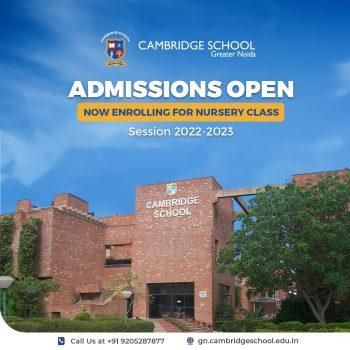 Admissioins Open _Nursery 2022-23